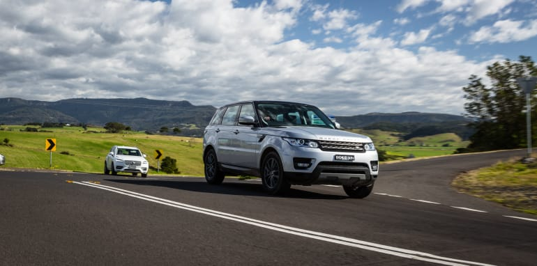 2016 Luxury SUV Comparo_Range Rover Sport V Jaguar F Pace V Porsche Cayenne V Volvo XC90 V BMW X5 V Audi Q7 V Lexus RX350 V Merc GLE250d-320