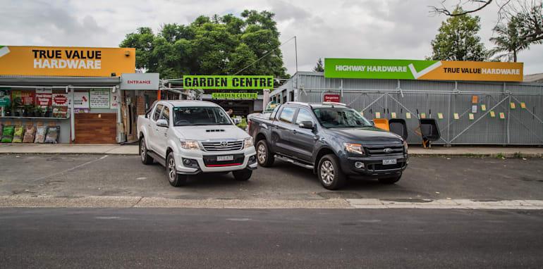 Toyota HiLux v Ford Ranger_22