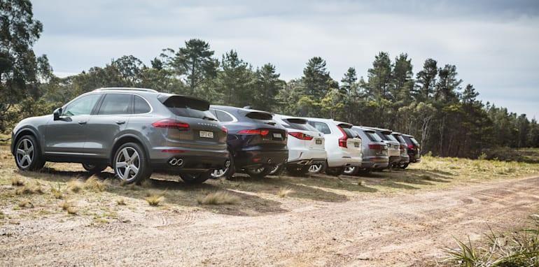 2016 Luxury SUV Comparo_Range Rover Sport V Jaguar F Pace V Porsche Cayenne V Volvo XC90 V BMW X5 V Audi Q7 V Lexus RX350 V Merc GLE250d-236