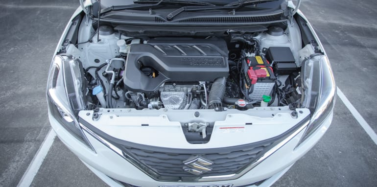 2016 Suzuki Baleno GLX V Honda Jazz VTi-S Comparo-61