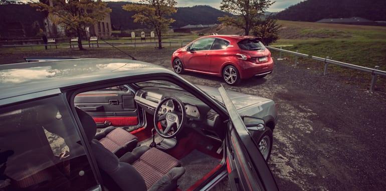 Old v New - Subaru WRX, Mini Cooper S, Peugeot GTi_13