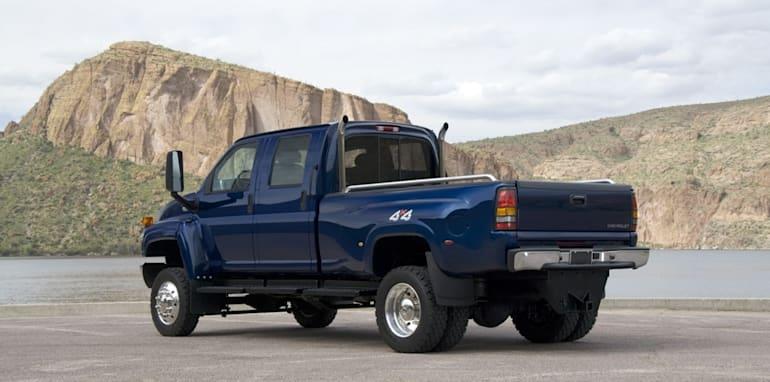 2009 Chevrolet Kodiak C4500 4x4 Crew Cab by Monroe Truck Equip.