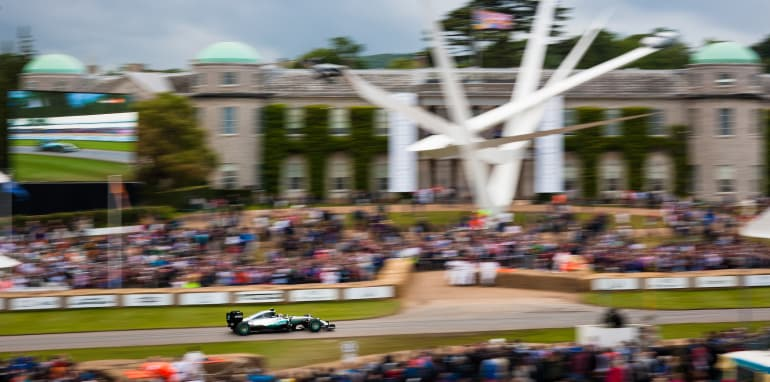 2016 Goodwood Festival Of Speed 23rd - 26th June 2016 FoS Saturday, 26th June. Goodwood, England. Batch 4, Four, Track Action Photo: Drew Gibson