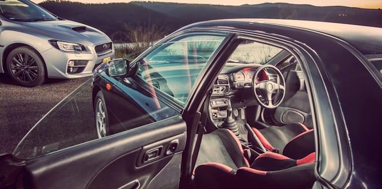 Old v New - Subaru WRX, Mini Cooper S, Peugeot GTi_20