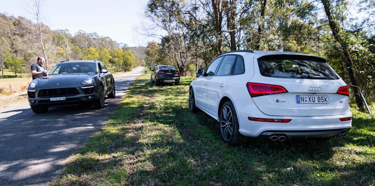 Porsche Macan v Audi SQ5 v BMW X4 comparison-04