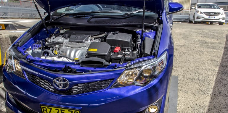 Toyota Camry Mazda 6 Subaru Liberty Hyundai Sonata-17