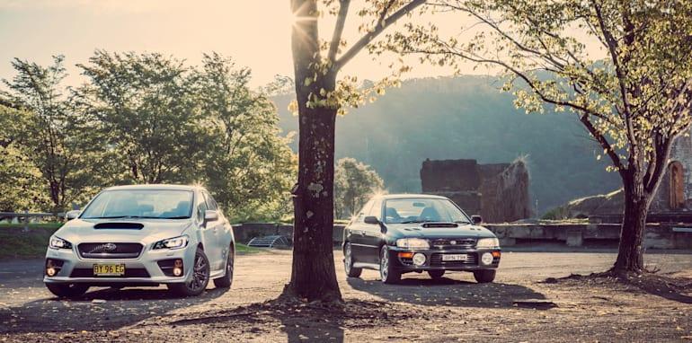 Old v New - Subaru WRX, Mini Cooper S, Peugeot GTi_17