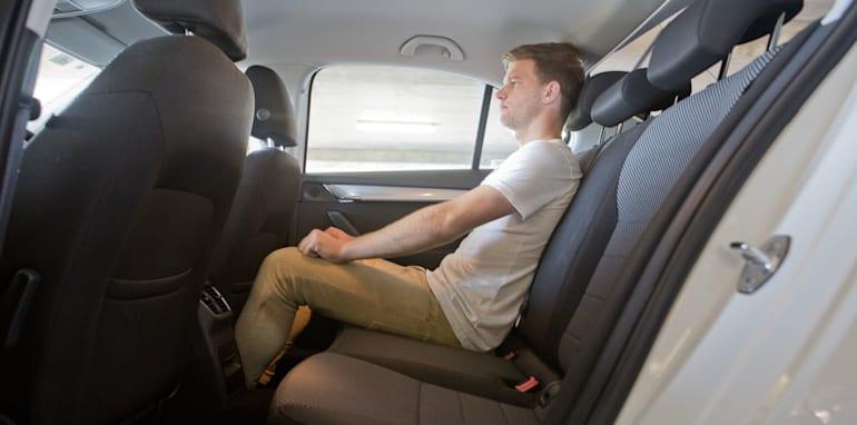 Mid-size Sedans - Skoda Octavia rear seat