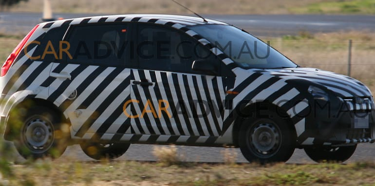 Ford small Verve based car