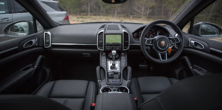 2016 Luxury SUV Comparo_Range Rover Sport V Jaguar F Pace V Porsche Cayenne V Volvo XC90 V BMW X5 V Audi Q7 V Lexus RX350 V Merc GLE250d-299