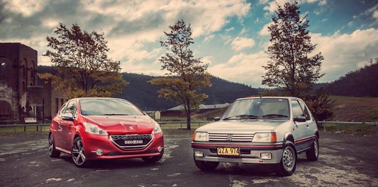 Old v New - Subaru WRX, Mini Cooper S, Peugeot GTi_09