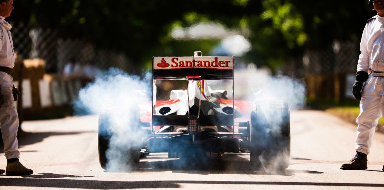 2016 Goodwood Festival Of Speed 23rd - 26th June 2016 FoS Thursday, 24th June. Goodwood, England. Batch Four, 4, Track Action Photo: Drew Gibson
