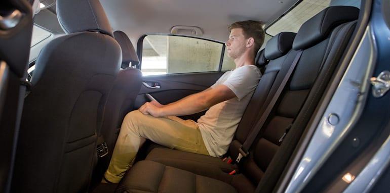 Mid-size Sedans - Mazda 6 rear seat