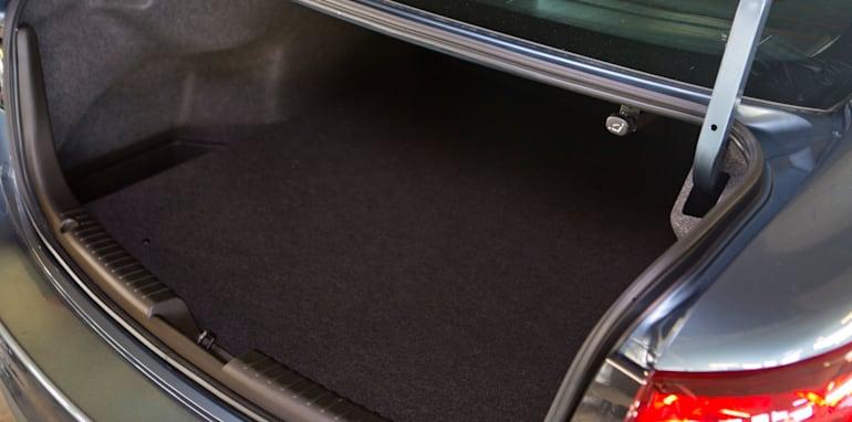 Mid-size Sedans - Mazda 6 boot