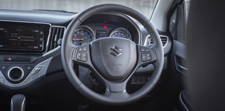 2016 Suzuki Baleno GLX V Honda Jazz VTi-S Comparo-54