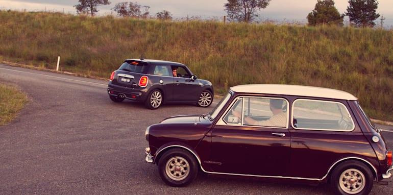 Old v New - Subaru WRX, Mini Cooper S, Peugeot GTi_26