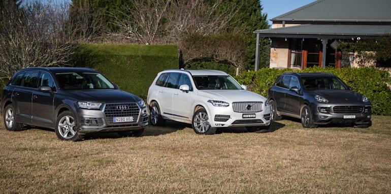 2016 Luxury SUV Comparo_Range Rover Sport V Jaguar F Pace V Porsche Cayenne V Volvo XC90 V BMW X5 V Audi Q7 V Lexus RX350 V Merc GLE250d-396