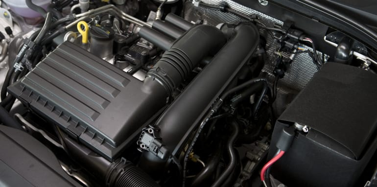 Mid-size Sedans - Skoda Octavia engine