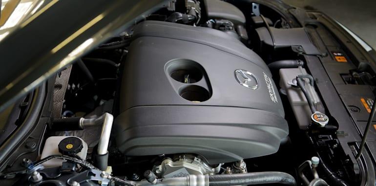 Mid-size Sedans - Mazda 6 engine