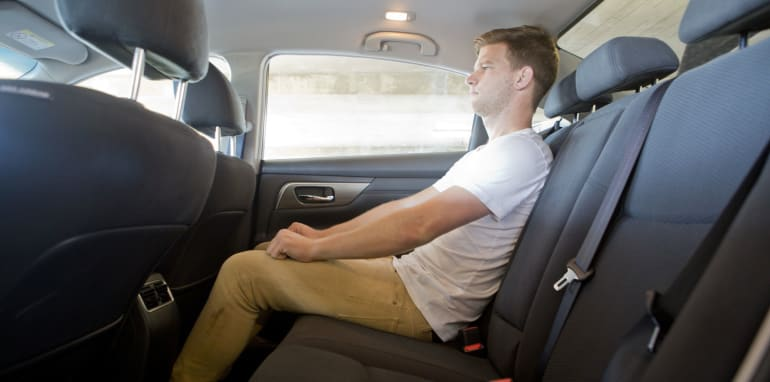 Mid-size Sedans - Nissan Altima rear seat