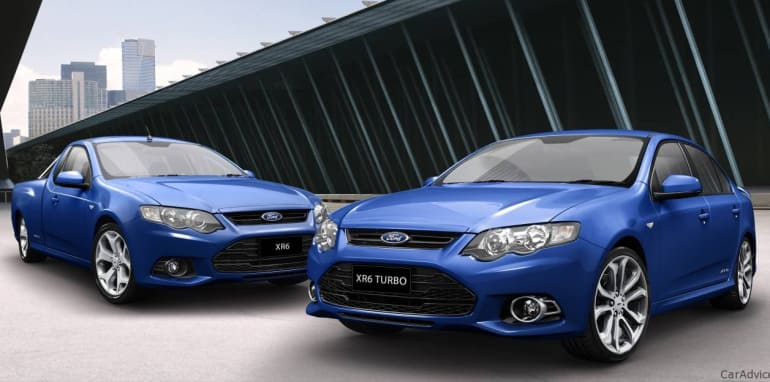 Ford Falcon EcoLPi matches petrol Falcon's five-star ANCAP safety
