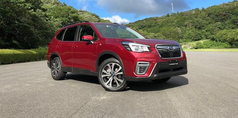 2020 Subaru Forester E Boxer Hybrid For Australia Update Caradvice