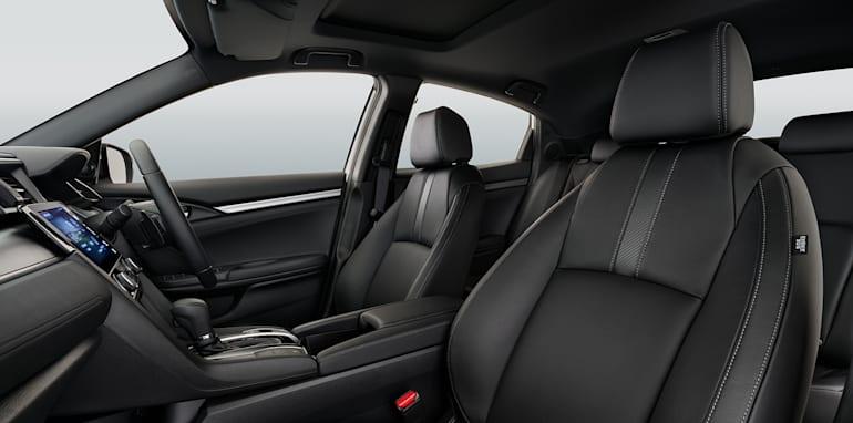 17YM Civic Hatch Interior