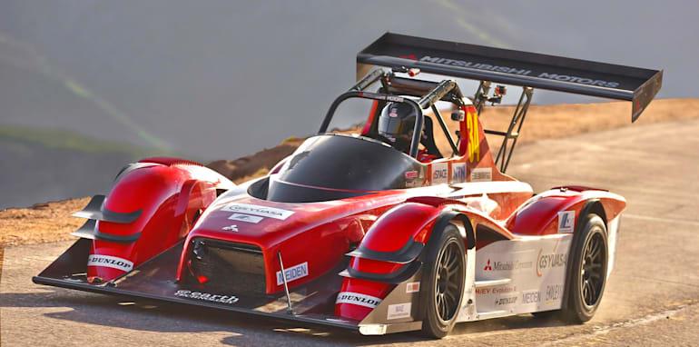 Mitsubishi MiEV Evolution III on Pikes Peak