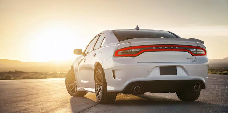 Dodge Charger SRT Hellcat rear
