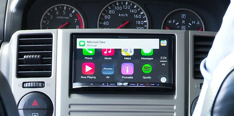Apple CarPlay by Pioneer_9
