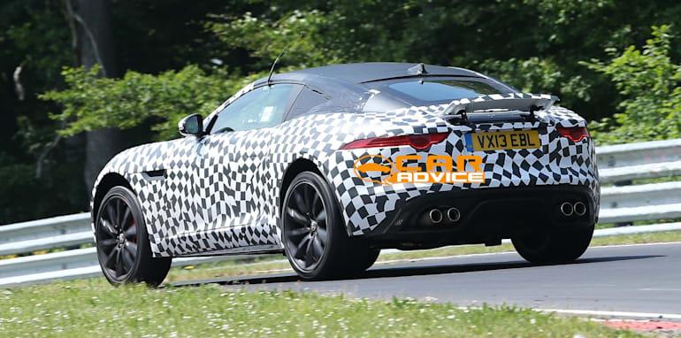 Jaguar F-Type Coupe Spied - 9