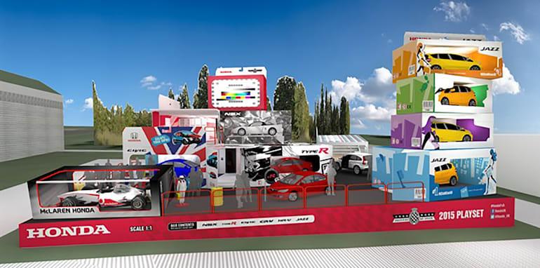 Honda UK at the Goodwood Festival of Speed