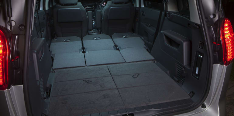Peugeot 5008 all flat cargo