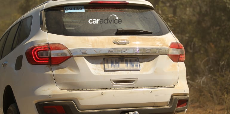 2015 Ford Everest spied in Victoria