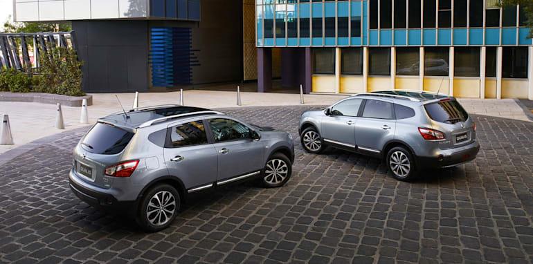 Nissan Dualis and Dualis+2
