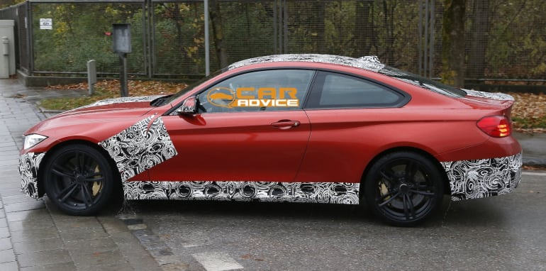 BMW M4 Coupe Spied - 5