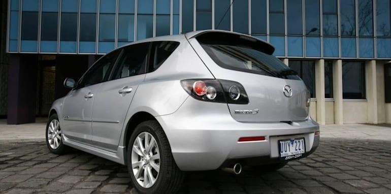 2008 hatchback mazda cars