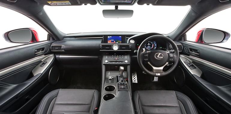 2014 Lexus RC 350 F Sport interior