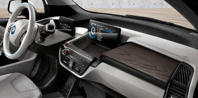 2016 BMW i3 94Ah - interior