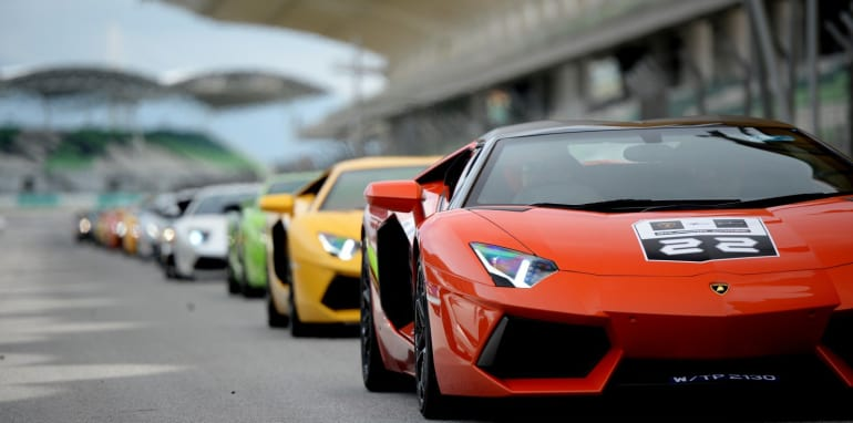 Lamborghini Super Trofeo World Final Parade