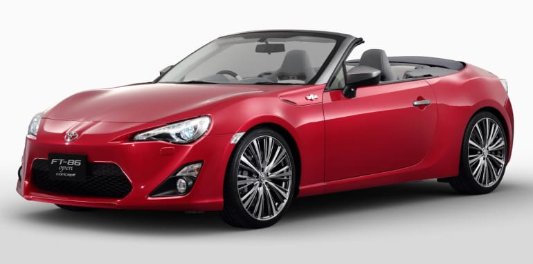 Toyota FT-86 Open Concept - 1