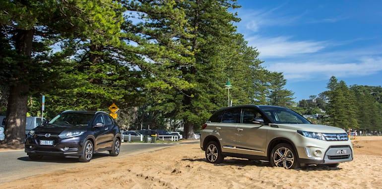 2015 Honda HR-V v 2015 Suzuki Vitara Twin Test-00