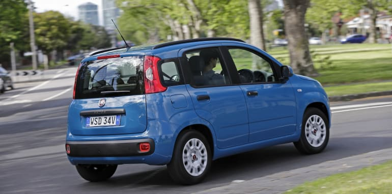 Fiat Panda Easy suburb driving