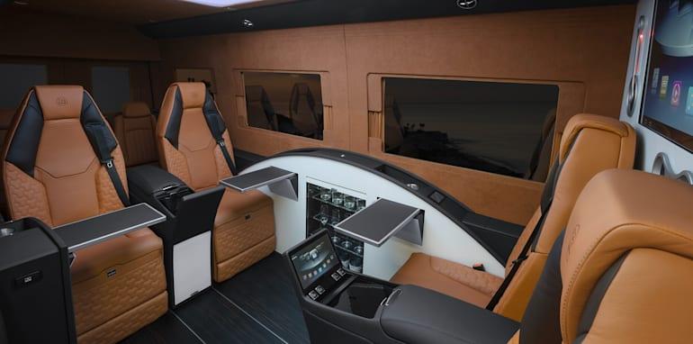 Brabus Business Lounge - passenger cabin