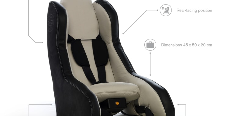 Volvo Inflatable Child Seat 1