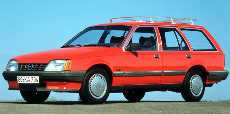 Opel Rekord E 82, Caravan, GLS, 1982-1986