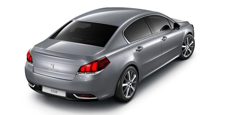 Peugeot 508 facelift sedan rear