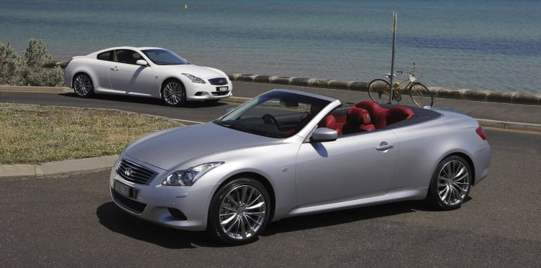 Infiniti G37 Convertible and Coupe