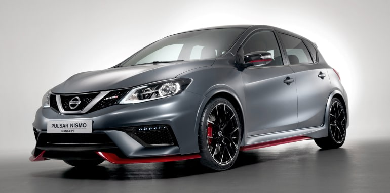 Nissan Pulsar Nismo concept - front