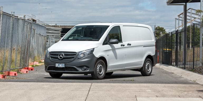 "c22489bb60 Dixon said the new vans were part of a ""broader collaboration between Australia  Post and Mercedes-Benz"""